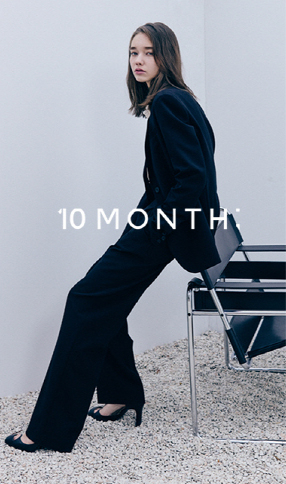 10MONTH focuses on clothes that are comfortable but still have fashionable silhouettes, which is why they requested Seo's help. [10MONTH]