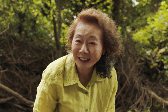 Actor Youn Yuh-jung bagged a Bafta for her performance as the grandmother in ″Minari.″ [PAN CINEMA]