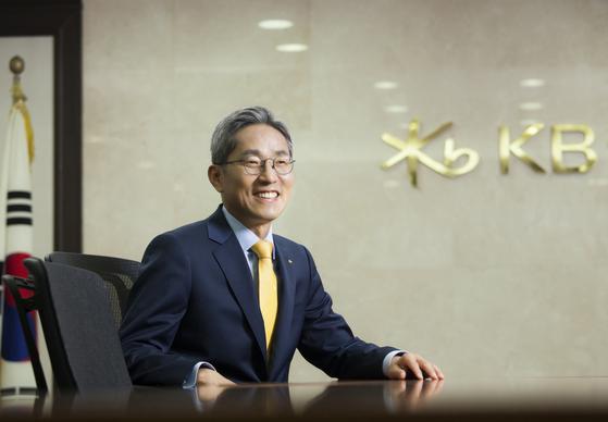 KB Financial Group Chairman Yoon Jong-kyoo [KB FINANCIAL GROUP]