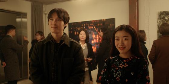 Tae-san visits Moa's graduation exhibition. [TRIPLE PICTURES]