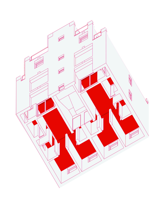 The layout of Cascade House [AOA ARCHITECTS]