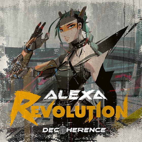 The cover image for AleXa's latest EP ″Decoherence″ released in October last year, includes ″Revolution,″ her most powerful track yet. [ZB LABEL]