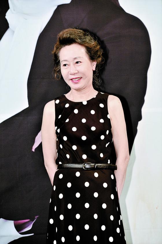 Actor Youn Yuh-jung [ILGAN SPORTS]