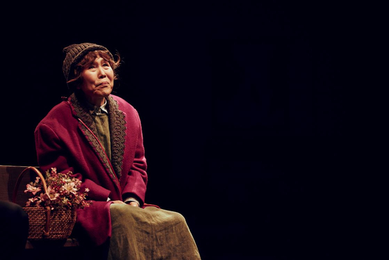 Park, who turns 79 this year, bids farewell to her signature character 79-year-old Maude in ″Harold and Maude,″ which kicks off at KT&G Sangsangmadang Daechi Art Hall on May 1. [SEENSEE COMPANY]