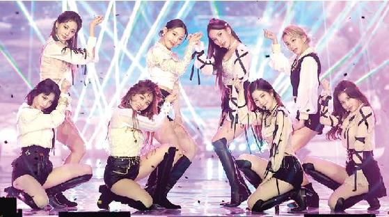 Girl group Twice [ILGAN SPORTS]