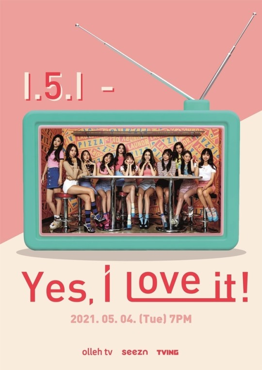 """Members of former girl group I.O.I will reunite for an online meet-and-greet """"I.5.I - Yes, I love it!"""" on May 4. [SWING ENTERTAINMENT]"""