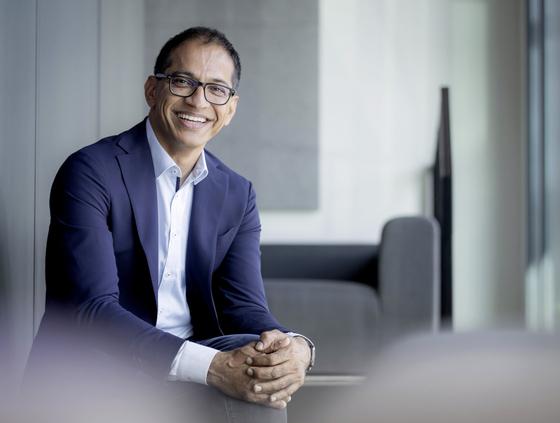 Sajjad Khan, Chief Technology Officer, at Mercedes-Benz. [MERCEDES-BENZ KOREA]