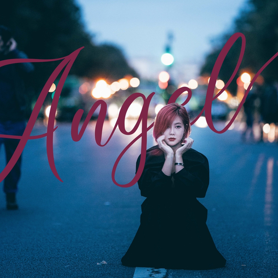 Solbi's song ″Angel″ was released through various music streaming sites at 6 p.m. Thursday. [MAP CREW]