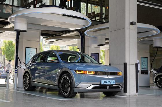 Hyundai Motor's Ioniq 5 [JEON TAE-GYU]
