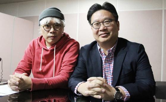 Professor Seo Kyoung-duk and television producer Kim Tae-ho. [SEO KYOUNG-DUK]