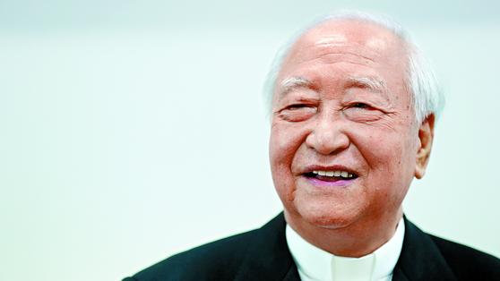 Cardinal Nicholas Cheong Jin-suk [JOONGANG PHOTO]
