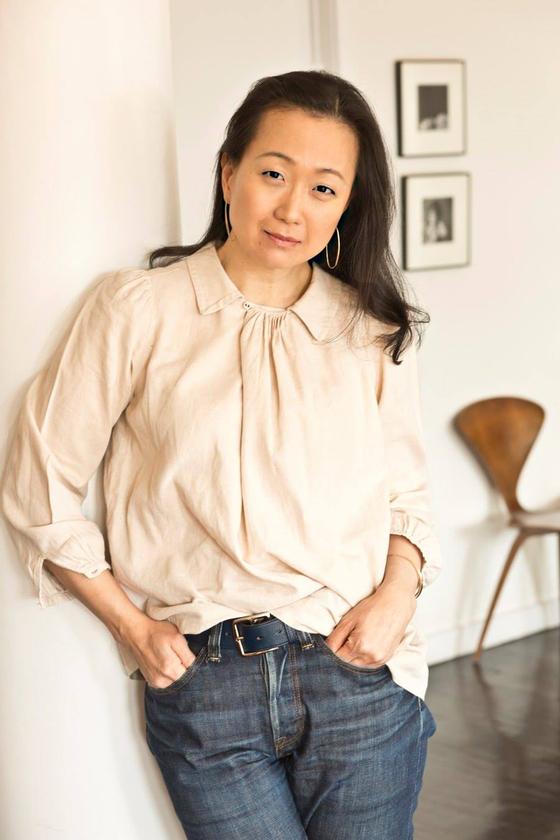 "Korean-American author Min Jin Lee, author of ""Pachinko"" (2017) [MIN JIN LEE]"