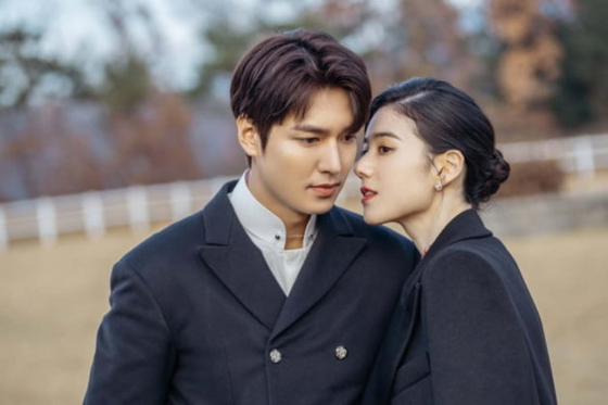 "Actors Lee Min-ho and Jung Eun-chae, who previously co-starred in the SBS series ""The King: Eternal Monarch"" (2020), will appear in ""Pachinko."" [SBS]"