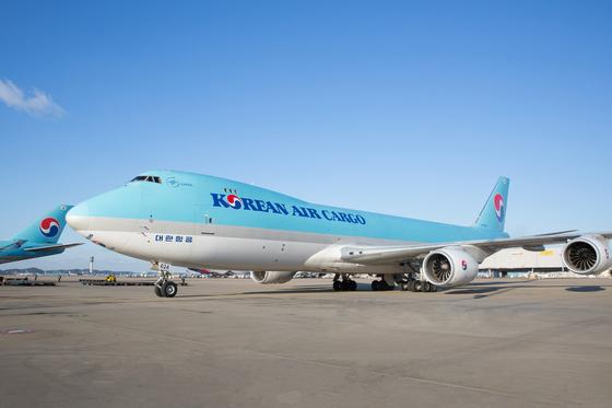 A Korean Air Lines cargo flight. [KOREAN AIR LINES]