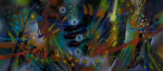 ″Holes in the Wind″ by Carlos Jacanamijoy [CARLOS JACANAMIJOY]