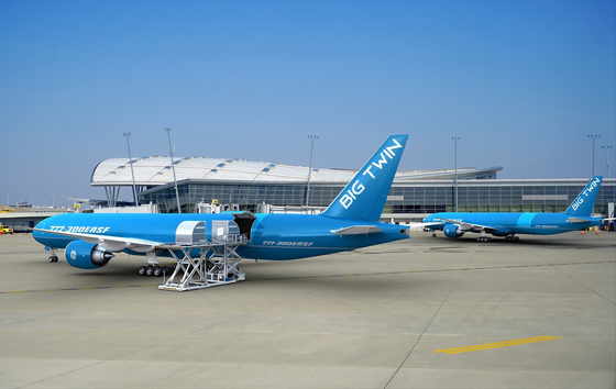 A converted aircraft being tested in Israel. [INCHEON INTERNATIONAL AIRPORT CORPORATION]