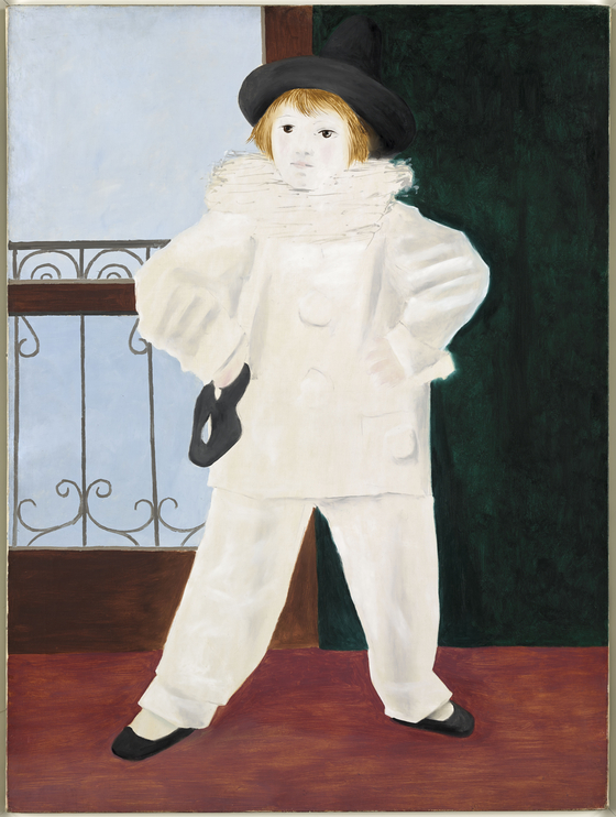 ″Paul as a Pierrot″(1925) by Pablo Picasso(1881-1973) [MUSEE NATIONAL PICASSO]