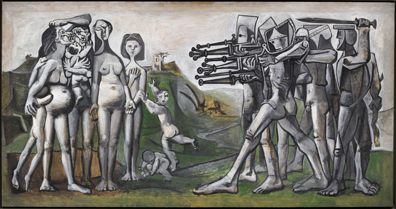 ″Massacre in Korea″(1951) by    Pablo  Picasso  (1881-1973) [MUSEE NATIONAL PICASSO]