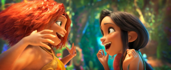 A scene from ″The Croods: A New Age″ [UNIVERSAL PICTURES]