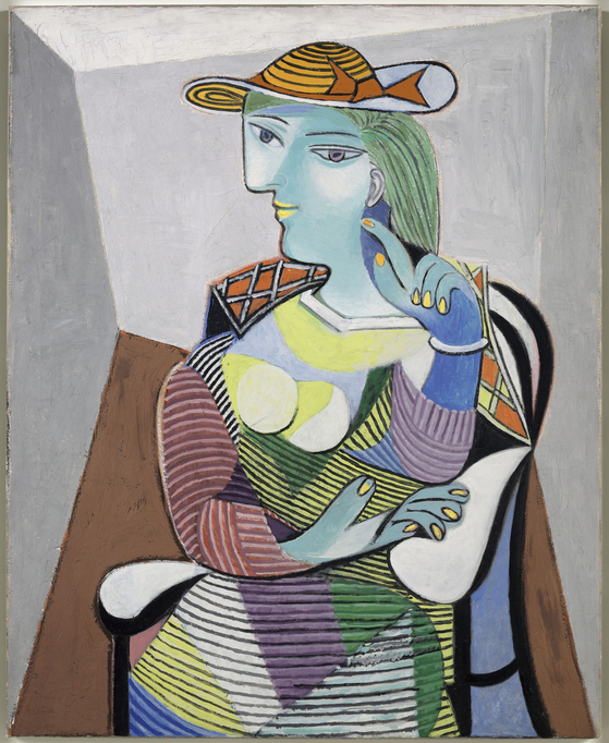 ″Portrait of Marie-Thérèse Walter″(1937) by Pablo Picasso (1881-1973) [MUSEE NATIONAL PICASSO]