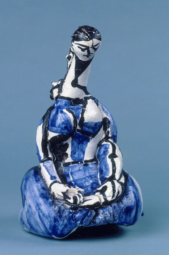 ″Bottle: Kneeling Woman″(1950) by Pablo Picasso (1881-1973) [MUSEE NATIONAL PICASSO]
