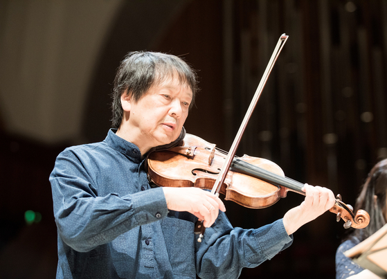 Violinist Kang Dong-suk, who is also the artistic director of the Seoul Spring Festival of Chamber Music since its advent in 2006. [SSF]