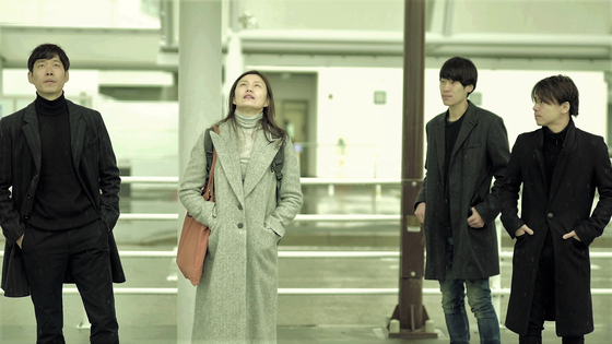 """A scene from film """"Spring Song"""" featuring actor Yoo Jun-sang, left. [NAMOO ACTORS]"""