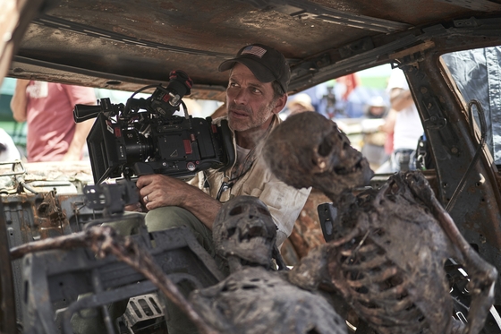 """Filmmaker Zack Snyder, who is behind 2004 remake """"Dawn of the Dead,"""" """"300"""" (2007), """"Man of Steel"""" (2013), Justice League"""" and more directed, scripted and acts as a cinematographer for the upcoming zombie film """"Army of the Dead,"""" set for release on May 21 on Netflix [NETFLIX]"""