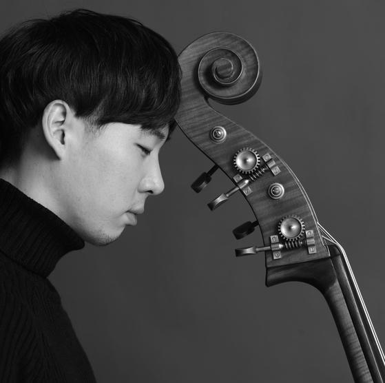 Double bassist Sung Min-je [CLAZZ COMPANY]