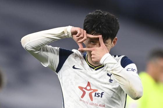 Son Heung-min [AP/YONHAP]
