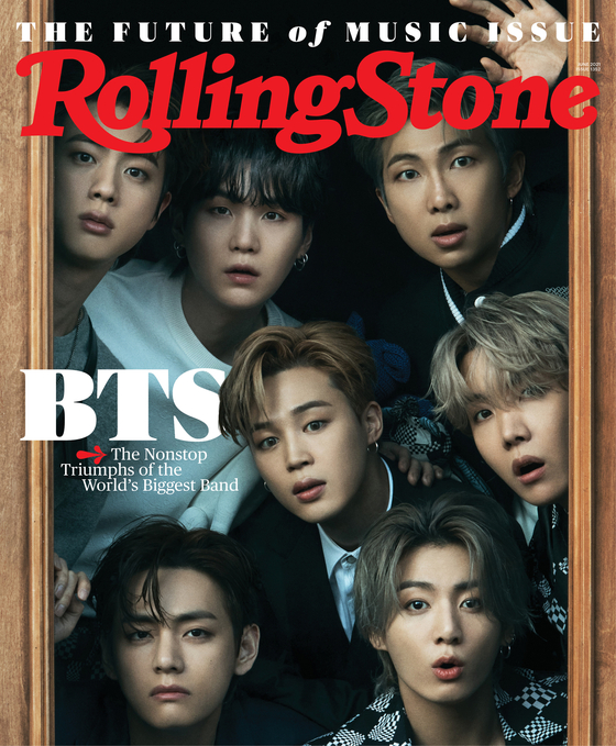The cover image of Rolling Stone's June issue will feature K-pop megaband BTS [ROLLING STONE]