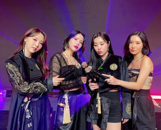 Girl group Mamamoo [RBW]