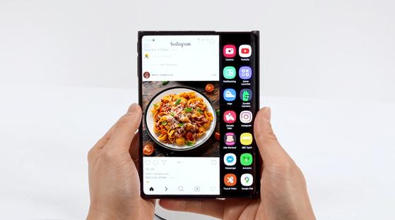 Samsung Display's sliding display [SAMSUNG DISPLAY]