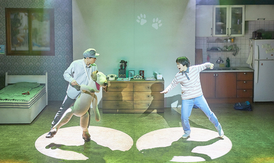Children's musical ″Alsatang″ is being staged at the Galleria Foret in eastern Seoul. [HARLEQUIN CREATIONS]
