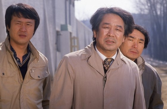 """A scene from MBC's long-running crime show """"Chief Detective"""" (1971-1989) [MBC]"""