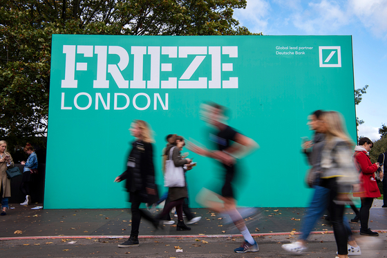 Frieze London 2019 provided by Linda Nylind and Frieze [FRIEZE]