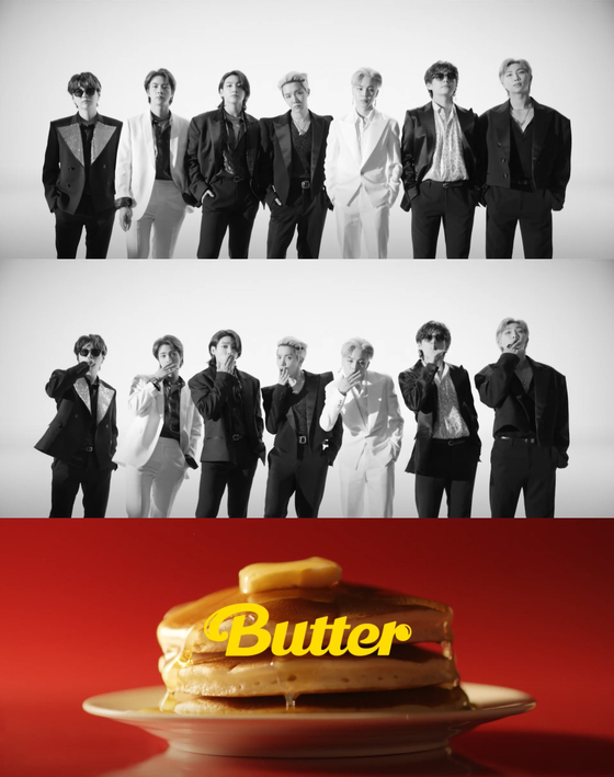 Teaser image for BTS's upcoming single ″Butter″ [ILGAN SPORTS]