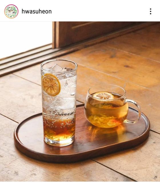 Plum ade and plum tea [SCREEN CAPTURE]