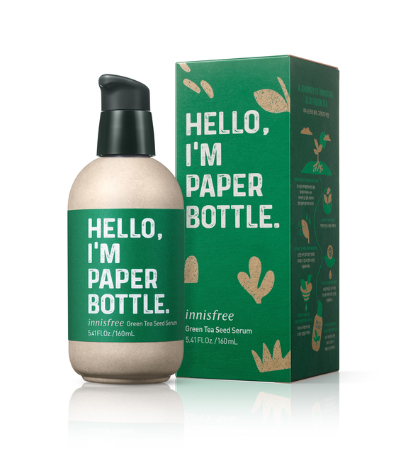 Innisfree's controversial paper bottle. [INNISFREE]