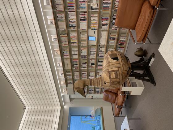 A duck-shaped chair at ... [LEE SUN-MIN]
