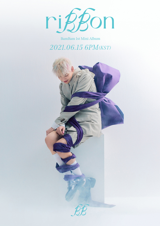 A teaser image for Bambam's upcoming EP ″riBBon″ to drop on June 15 [ABYSS COMPANY]