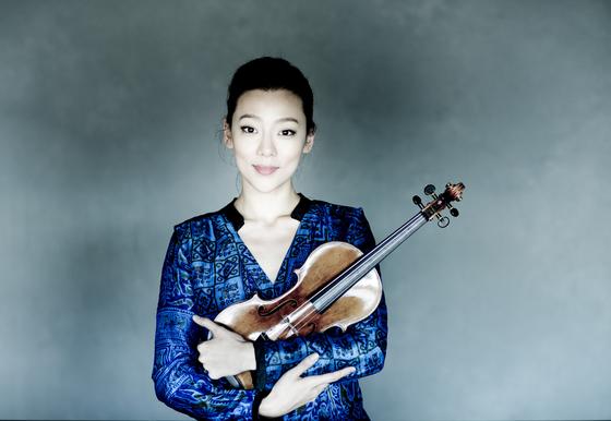 Violinist Clara-Jumi Kang [MARCO BORGGREVE]