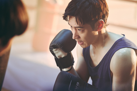 Lee worked out almost everyday four months prior to the shooting to build up the toughness that his character Sang-gu is defined by.[NETFLIX]