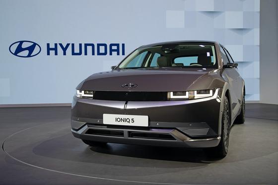 Hyundai Motor's Ioniq 5 [JOONGANG PHOTO]