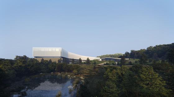 Rendering of Naver's Gak data center under construction in Sejong [NAVER]