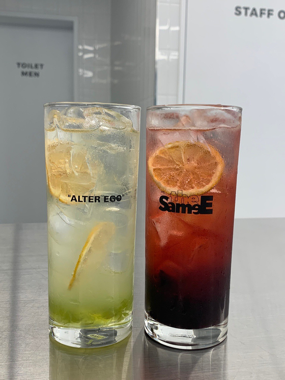 Drinks sold at YG Entertainment's 'the SameE' [YG ENTERTAINMENT]