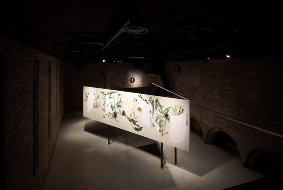This photo, provided by Lee Jinju and Arario Gallery, shows Lee Jinju's 2020 artwork ″The Unperceived.″ [YONHAP]