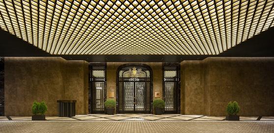 The main gate of Josun Palace, a Luxury Collection hotel, in Seoul's Gangnam District [JOSUN PALACE]