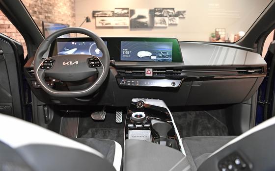 Inside of the EV6 [KIA]