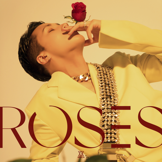 The album cover of Ravi's fourth EP ″Roses″ [GROOVL1N]